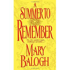 Echange 'A Summer to Remember' par 'Mary Balogh' - livres d'occasion sur PocheTroc.fr
